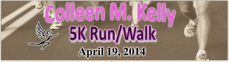 Colleen Kelly 5K Banner (Apr 19 2014)